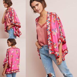 Anthropologie Mohila Rae Floral Jacket Kimono